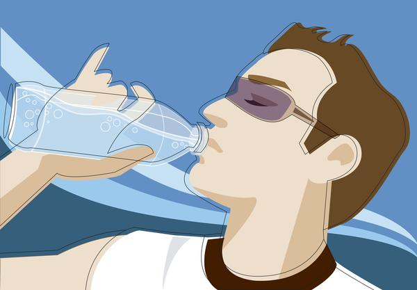 Does drinking water improve indigestion and reflux?