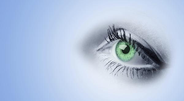 How do you treat someone with a corneal abrasion?