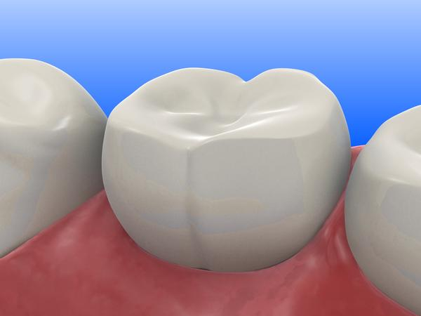 What are the most common dental health problems seen in middle-aged adults?