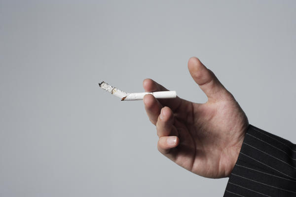 What happens to the tar in the lungs when you quit smoking?