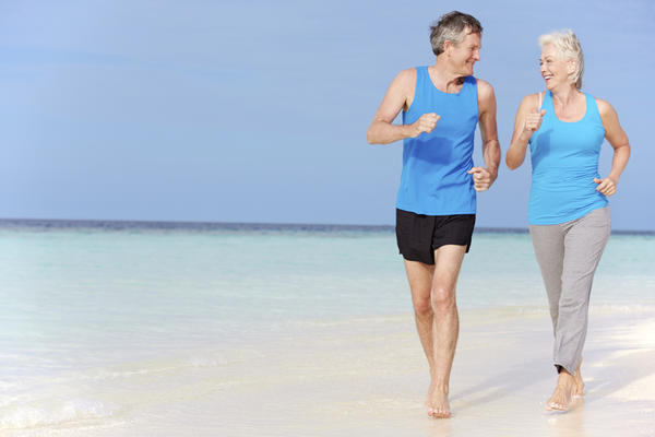 When you are jogging, do your muscles use more oxygen and thus release more carbon dioxide into the blood?