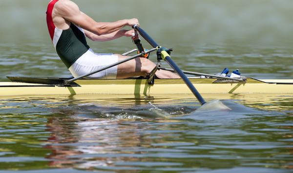 What types of exercise emulates rowing?