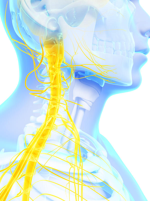 What causes subluxation in the  neck?