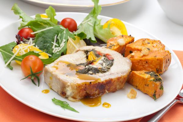 10 weeks pregt is it ok if i eat pork? Housband says is never ok.