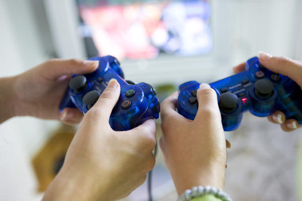 How do video games affect fine motor skills?