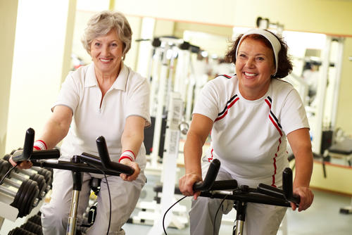 What types of exercise can help promote a healthy lifestyle?