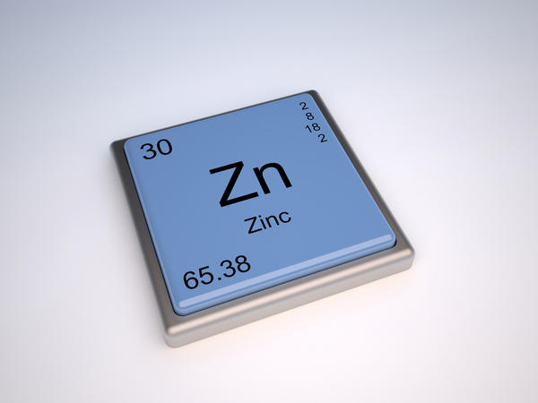How does zinc aid in depigmentation of skin?