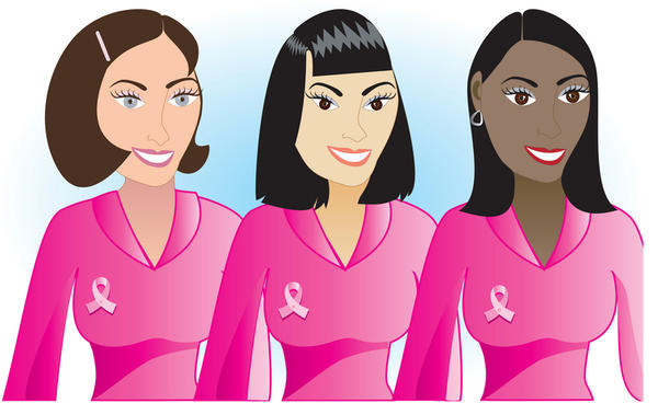Pink is the official color for breast cancer in women, what color ribbon is it for men?