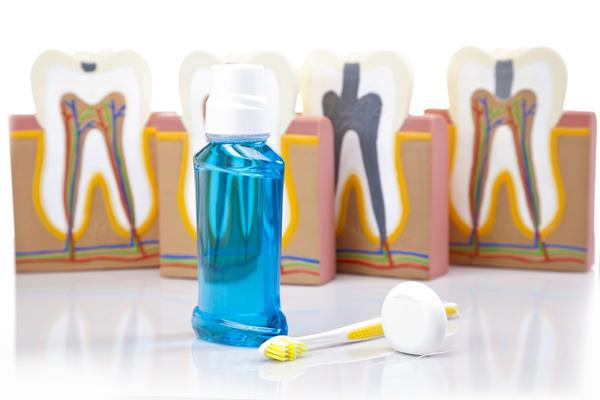 What mouth wash is good for bleeding gums and weakness of teeth?