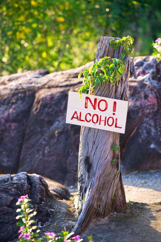 What can be done for alcoholism?