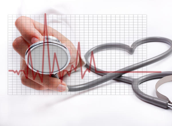 At what average age is the first heart attack amongst males?
