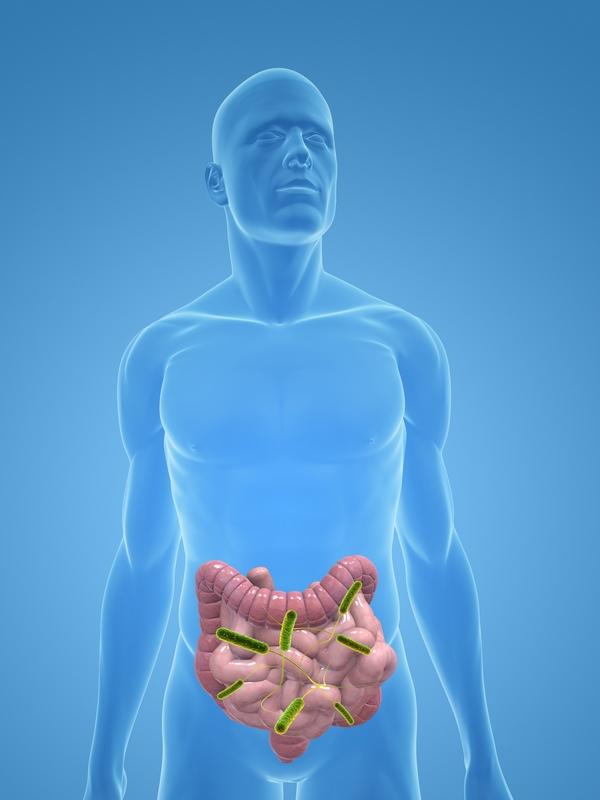 What causes pain to return after having inflammatory colitis a few weeks ago?