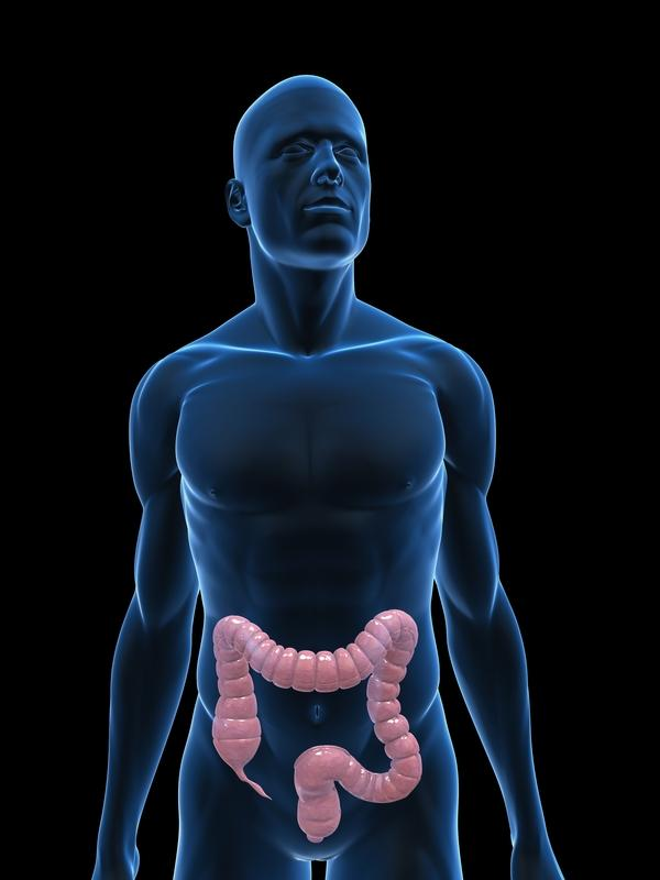 How do you reduce abdominal distention after a  colonoscopy?