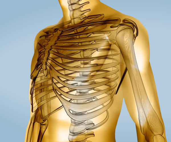 Costochondritis can it cause swelling of the organs underneath the ribs. Is this true?