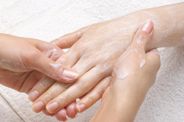 How can I control eczema outbreaks in cold, dry weather?