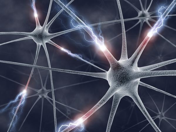 Could multiple seizures over a period of 10 years cause brain lesions?