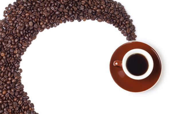 How does caffeine affect the circulatory system?