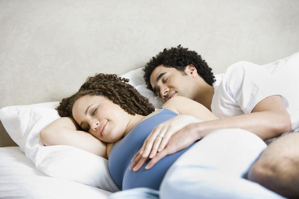 While pregnant is it not ok to have unprotected sex and for your partner to have a orgasm inside you?