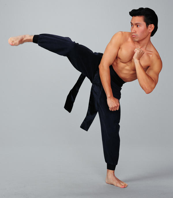 What exercises or training can I do to improve my speed when I do karate?