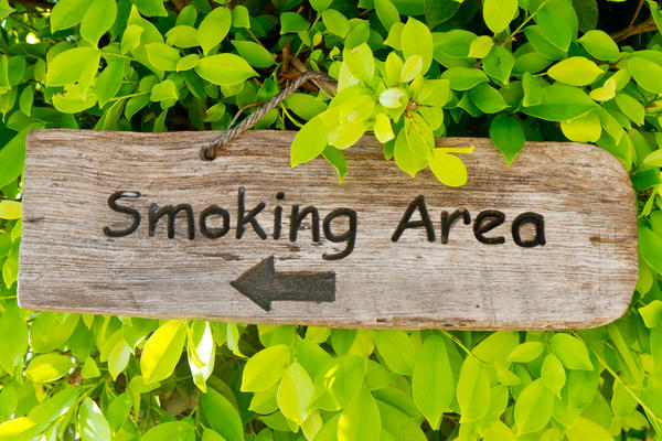 What should I do if my teen has started to smoke cigarettes?