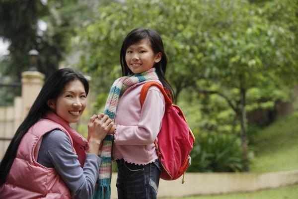 How do I deal with a child who has a bad case of school phobia?