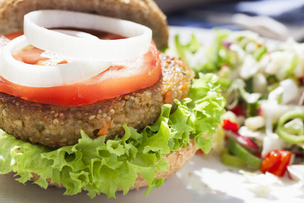 Please share an interesting fact about a vegetarian diet.