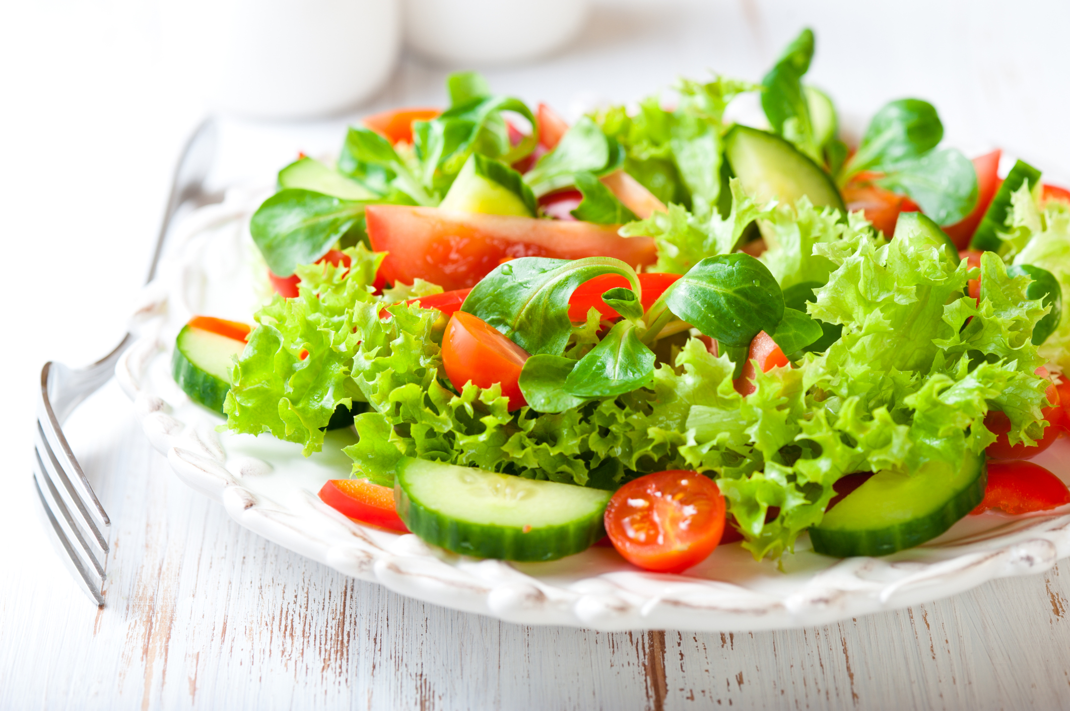 Картинки с салатами из овощей, днем рождения