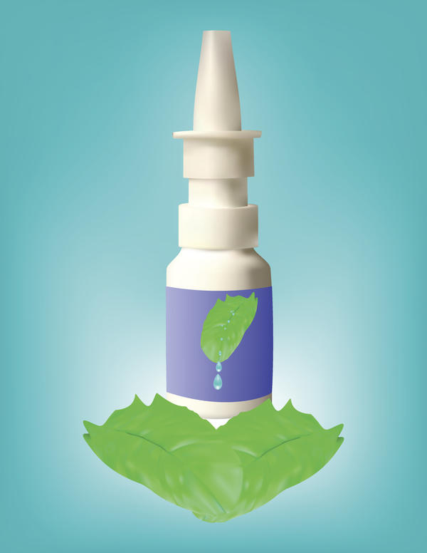 Can betazole be applied on inner edges of nose in case of irritation?
