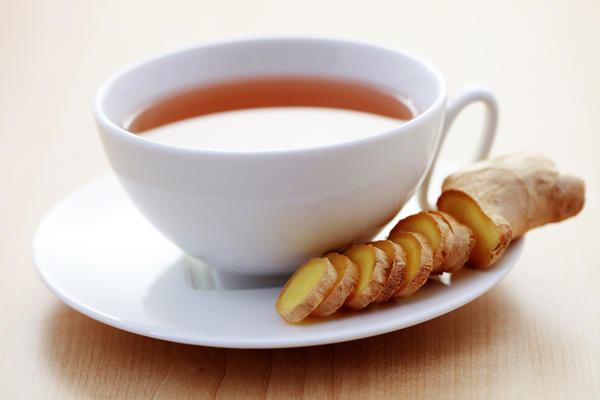 Does ginger tea bring my period down?