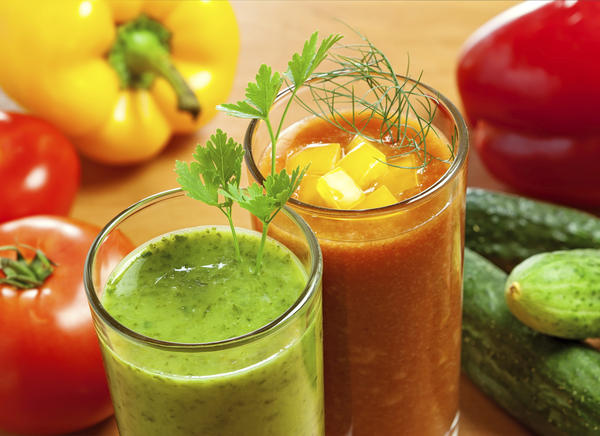 What kind of juices may be helpful in a diet for weight loss?