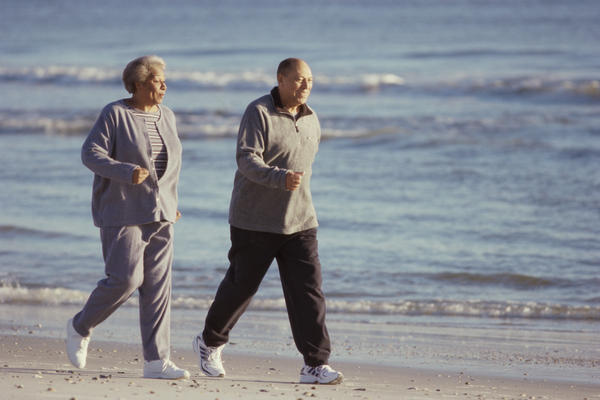 Does rheumatoid arthritis normally feels better once a person is active (walking around), like symptoms stop but return once still/lying down?