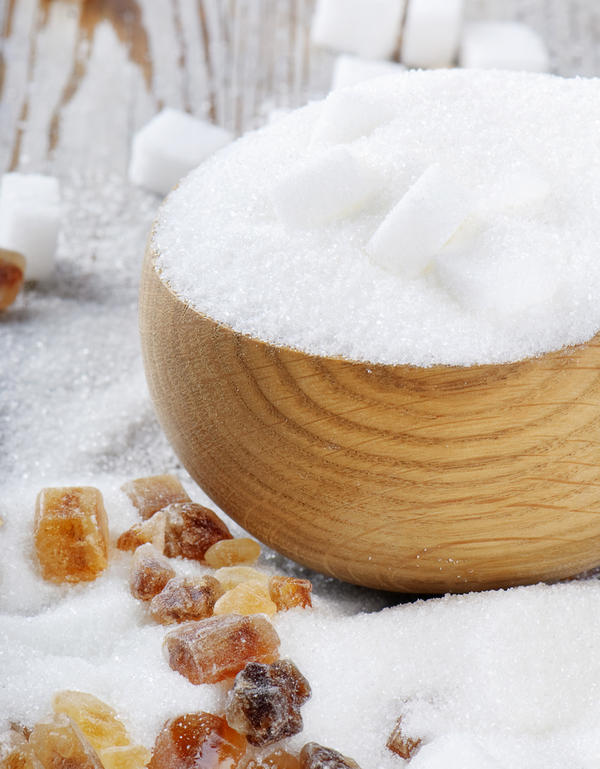 Sugar can be listed in the ingredients list by different names. What is two other names for sugar?