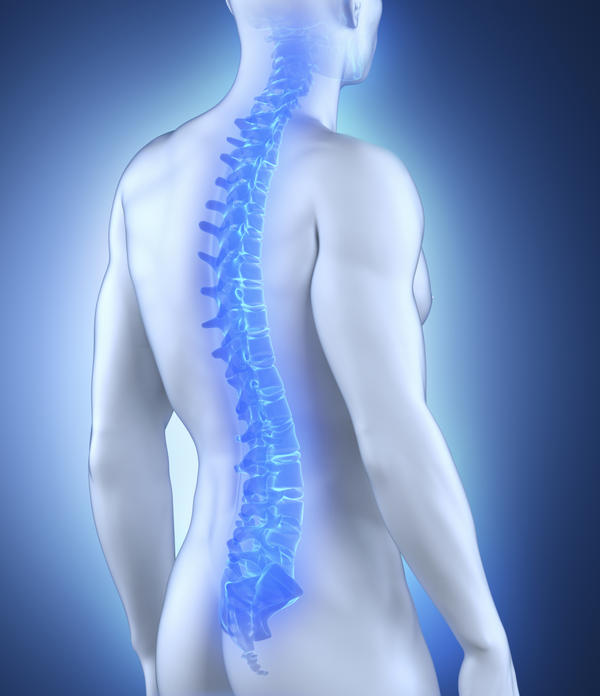 What is the definition or description of: spine surgery?