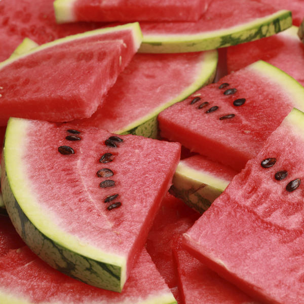 What's in watermelon that causes stomach upset?