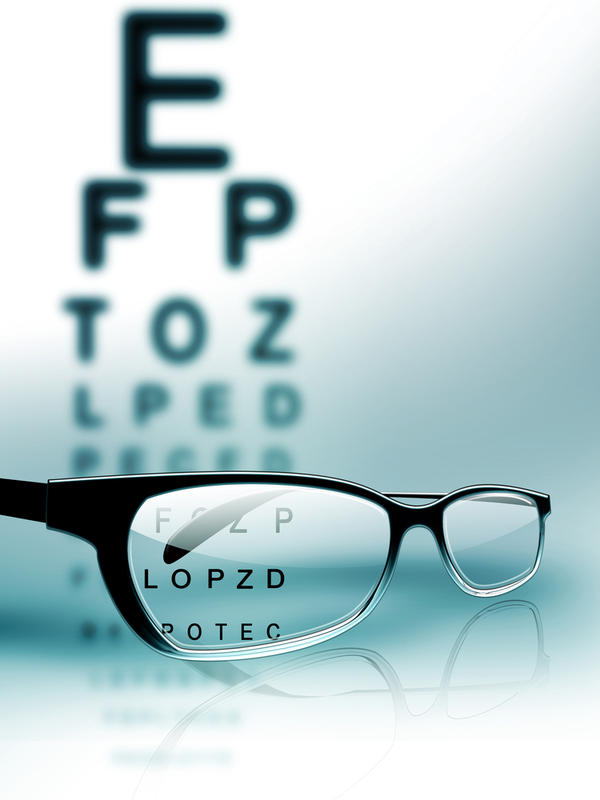 Is it possible that low prescription reading glasses damage perfect vision?