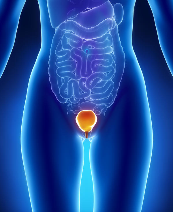 Which are the signs of bladder infection in women?