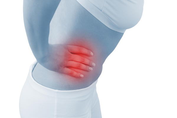How is ruptured appendix pain compared to labor pain?