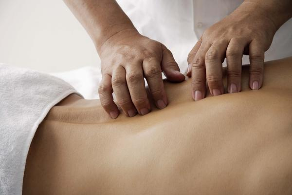 What's a simple, cheap treatment for my back trauma?