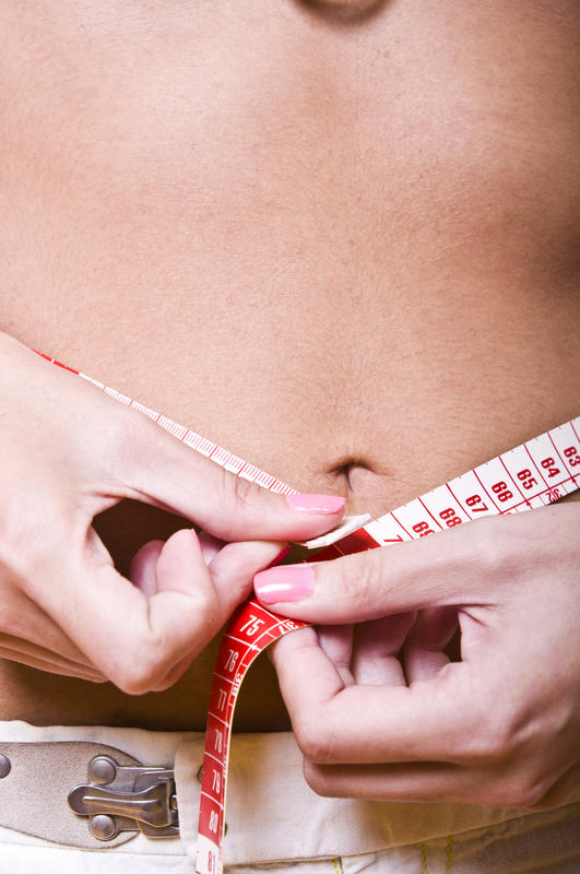 How can anorexia affect an extremely overweight person?