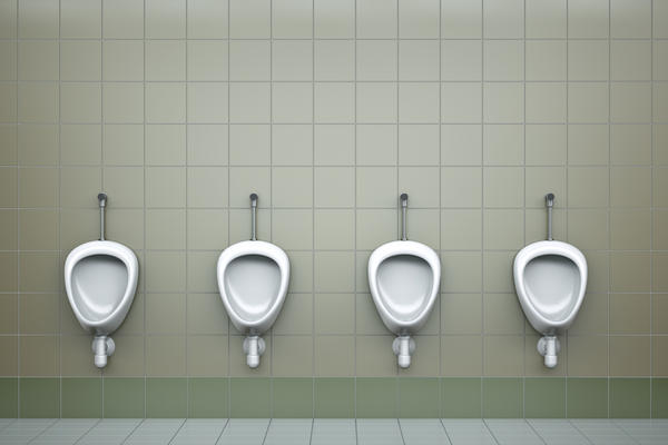 Coulc constipation cause painful urination?