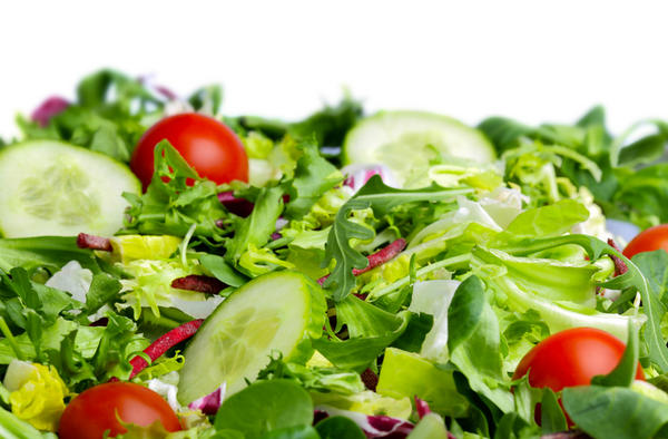 Is loose stool normal after eating salad?