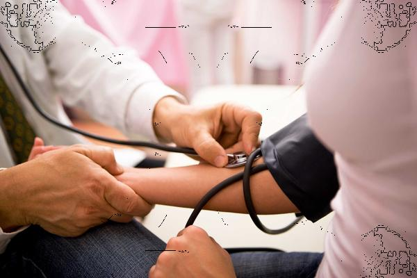 What can cause a temporarily raised blood pressure?