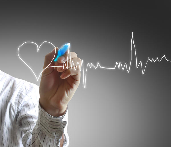 Why does vasoconstriction increase heart rate?