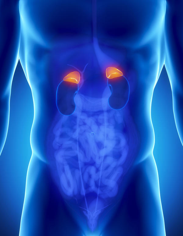 Is it true that adrenal insufficiency deplete steroids in the human body?
