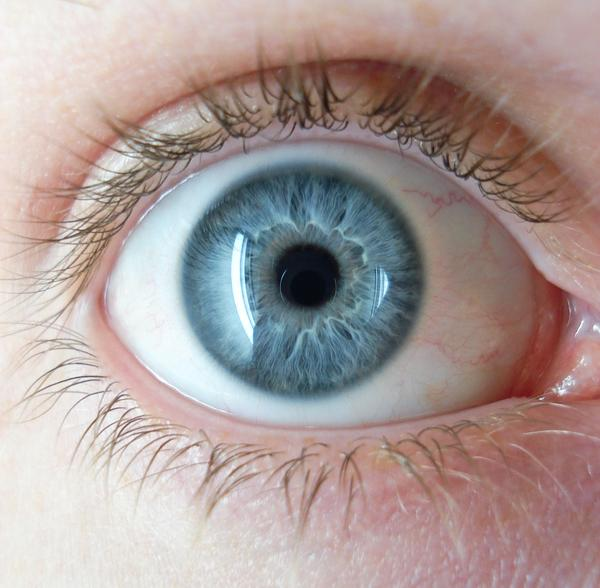 Black Eye Iris Color With brown eyes see better