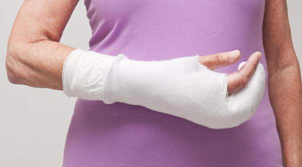 How can you heal a broken wrist?