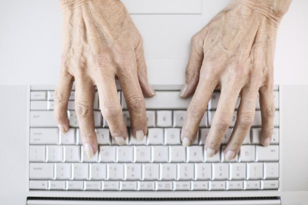 Get hand to elbow pain when typing or writing for a short period of time usually like a minute or two?