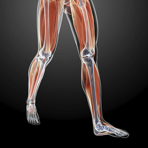 Posterior tibialis pain that's comes and go with rest for a long time in one leg PLUS that leg's posterior muscles are much softer than the other leg?