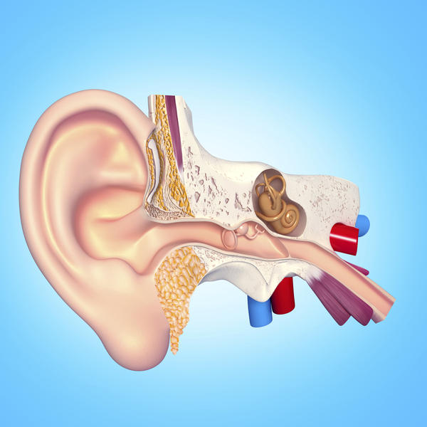 Is there something wrong if I repeatedly find dark red ear wax in my left ear?