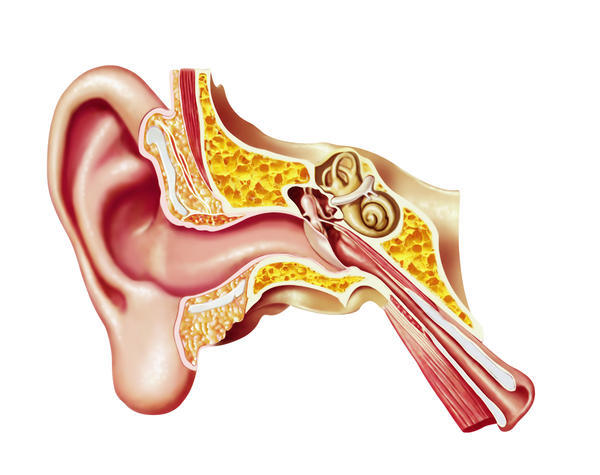 What can causes slight hearing loss in left ear?